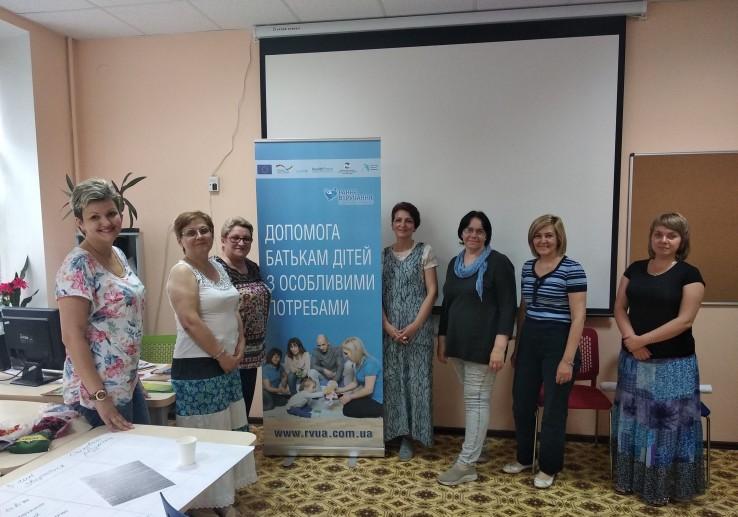 Семінар-опитування для батьків дітей з особливостями розвитку у Запоріжжі
