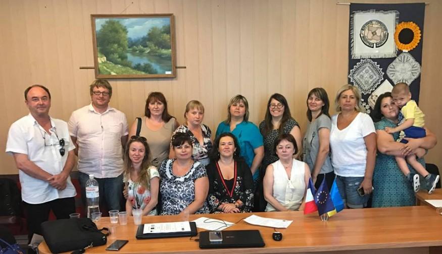 Екперти проекту Twinning провели зустріч з представниками батьківських асоціацій