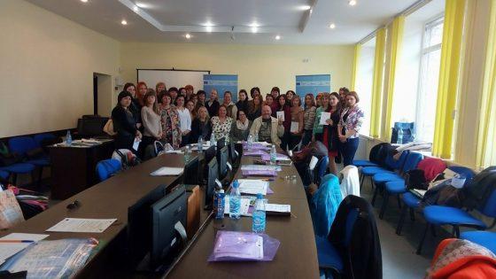 В Бердянську триває семінар «Раннє втручання. Супровід дітей з особливими освітніми потребами»