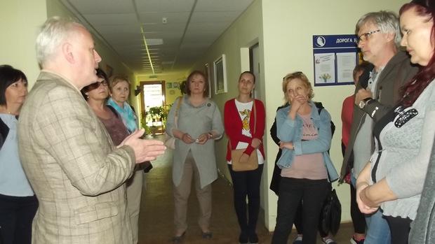 Ужгородський реабілітаційний центр «Дорога життя» приймав гостей з Франції, Словаччини, Чехії та Угорщини