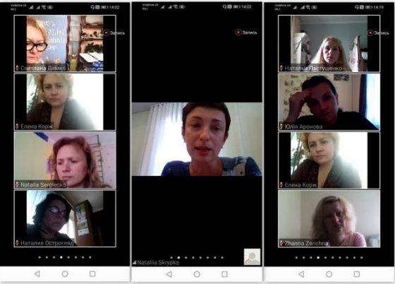 2-й вебінар он-лайн школи батьків – громадських активістів